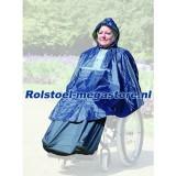 Rolstoel Regen Poncho de luxe